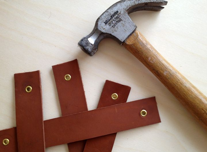 Leather pulls for doors - the-brick-house.com