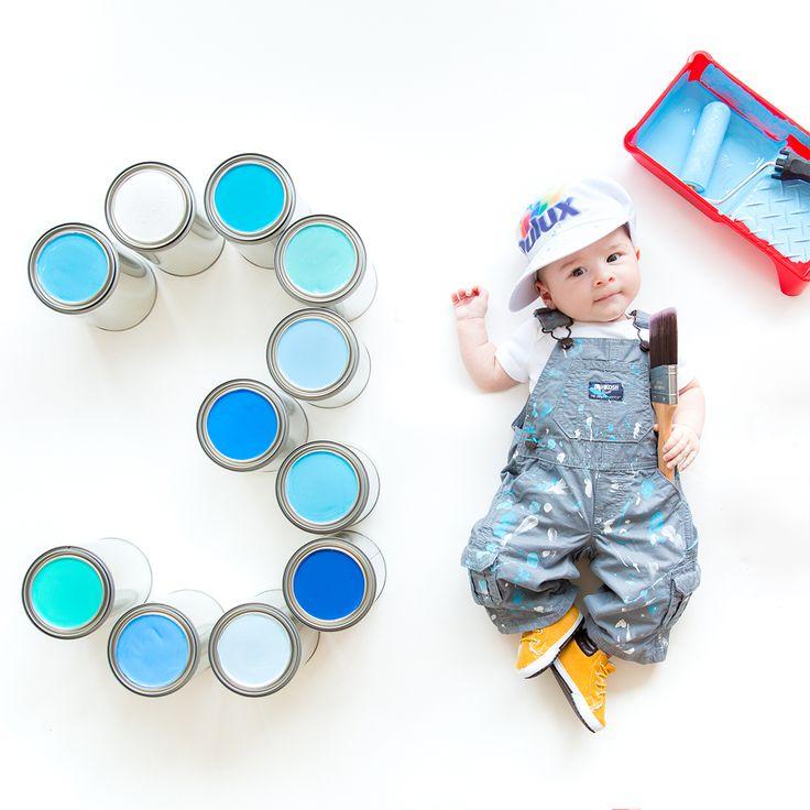 WIE MAN MONATLICHE BABYFOTOS NIMMT (1 – 12 MONATE) – Anna with Love Photography – Baby photo ideas