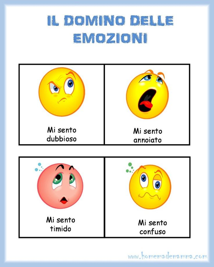 Il domino delle emozioni