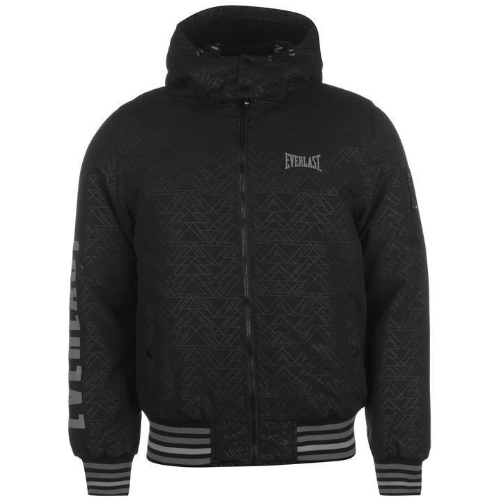 Everlast Hooded Bomber Jacket Mens | Coat | Padded