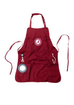 Team Sport America Men's University Of Alabama Mens Apron - Red - One Size