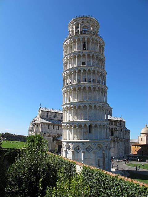 Torre inclinada de pisa#