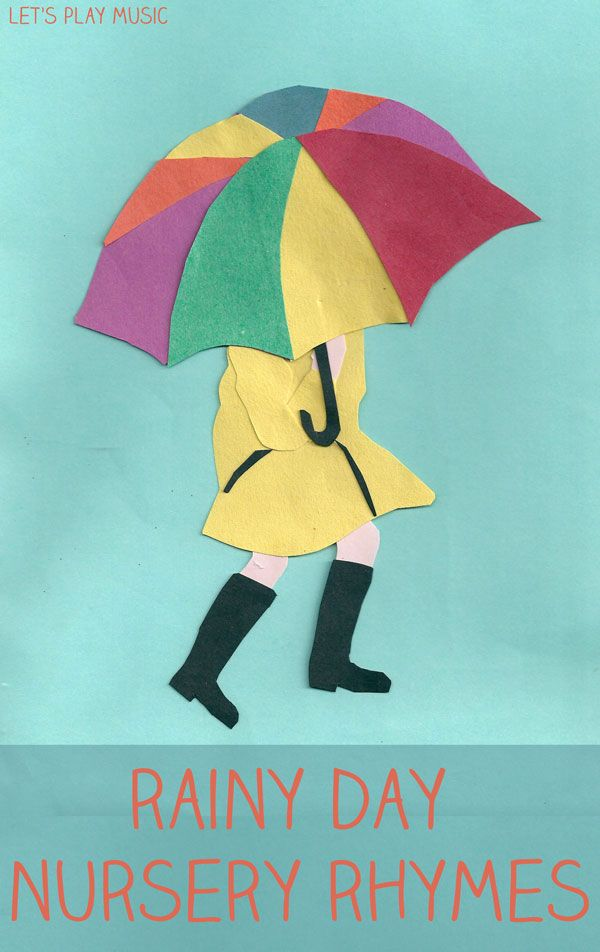 Let's Play Music : The Umbrella Song - Rainy Day Songs - these are the best songs to sing when it's raining outside, and get's kids moving t...