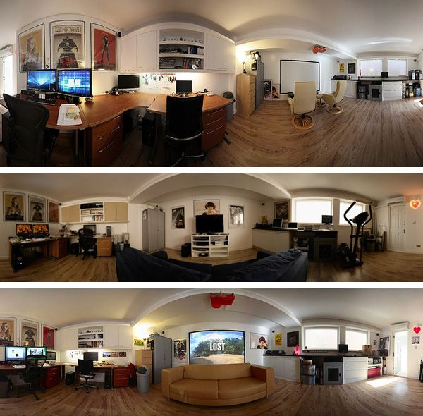 5 Must Haves For Creating The Ultimate Basement Home Theater: 8 Best Images About Home Office Man Cave Ideas On