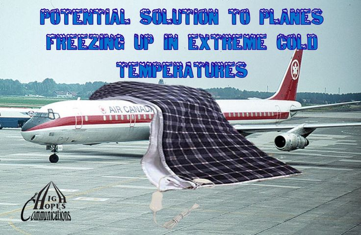 Potential Solution to Planes Freezing Up