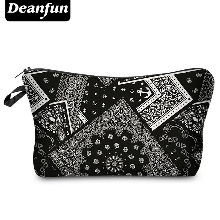 Deanfun 2017 3D Printing Large Cosmetic Bag Fashion Women Brand H81