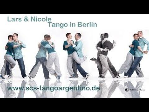 Lars & Nicole: How to dance asymmetrically ochos in Tango