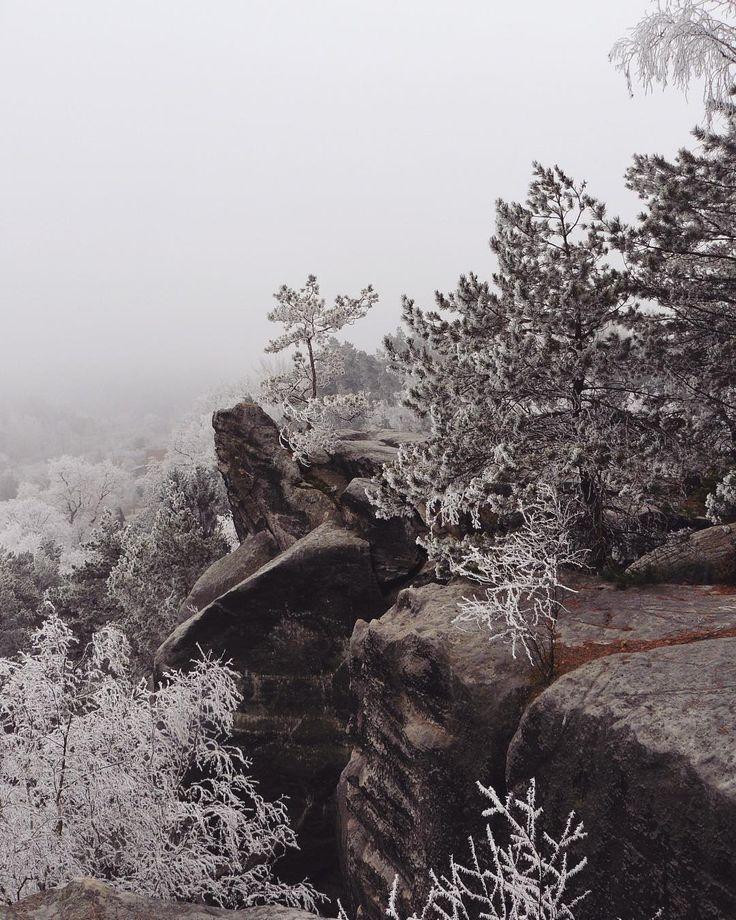 #naturelovers #klubkocestuje #walking #rocks #mountains #winter Klokočské skály byly super i s výhledem pouze do mlhy!☁️❄️