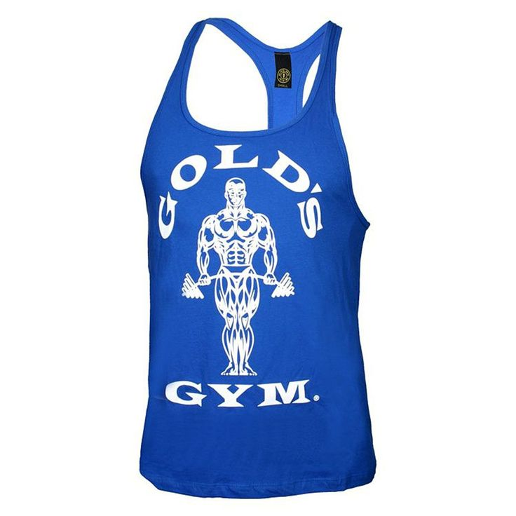 Gold's Gym Mens Tank Top Racer Y Back