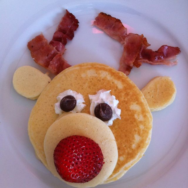Breakfast reindeer