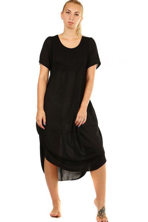 f8de16c68728 Plážové šaty volného střihu