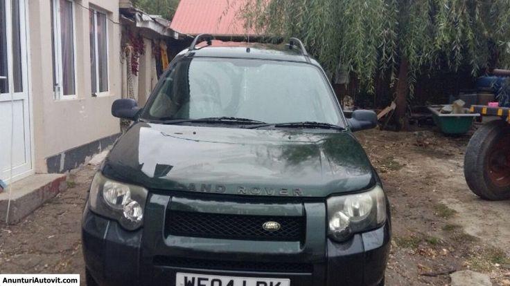 Proprietar, vand Land Rover  Freelander   (Second hand); Diesel; Euro 4 -   inmatriculata pe Regatul Unit - martie 2004 - Turnu Magurele, Pret 3300 EUR