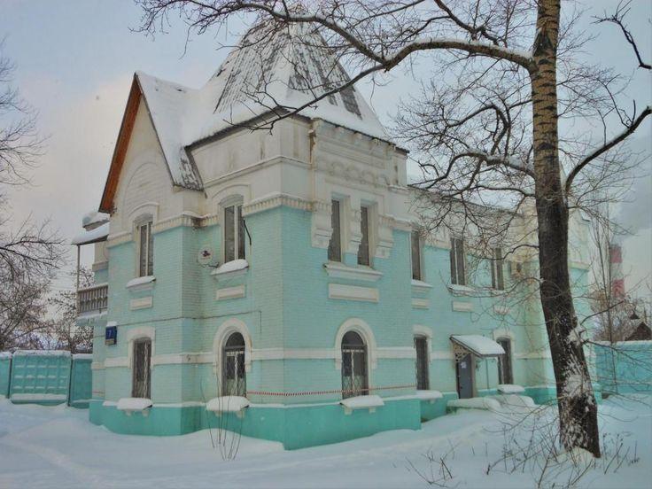 Исторический вокзал станции Андроновка (построен в 1908г.) Leonrid, GNU 1.2