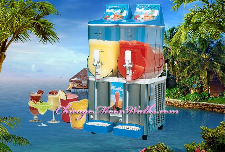 Slushie Margarita Machine (we DO NOT provide alcohol) Only mix is included can make 80-100 servings depending on cup sizes!