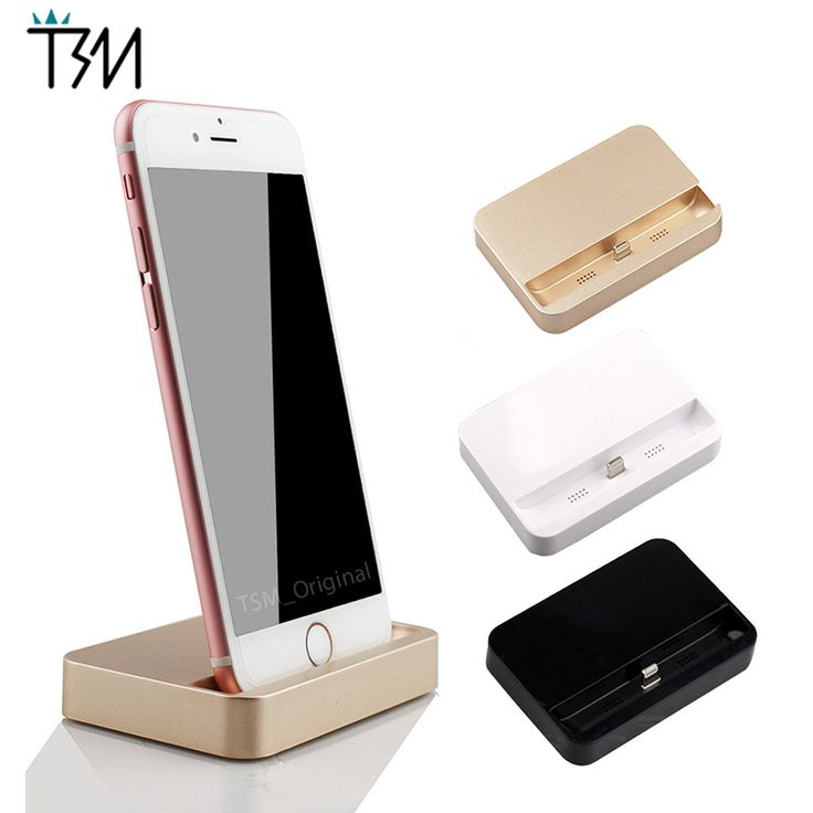 Portable Charger Dock For iPhone 5 5S 5c 6 6s Plus iPod Dock Charger Desktop Data Sync USB Cradle Charging Station Charger #clothing,#shoes,#jewelry,#women,#men,#hats,#watches,#belts,#fashion,#style