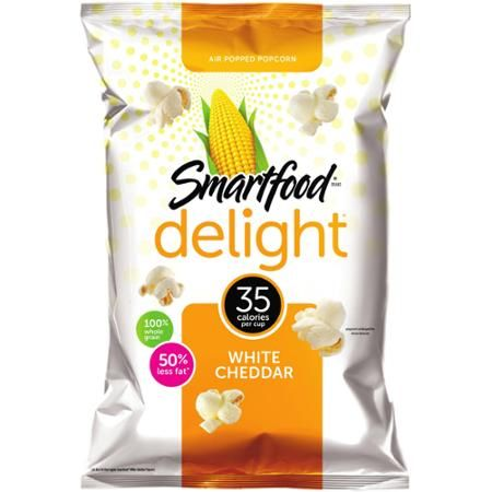 Smartfood Delight White Cheddar Popcorn, 6.5 oz