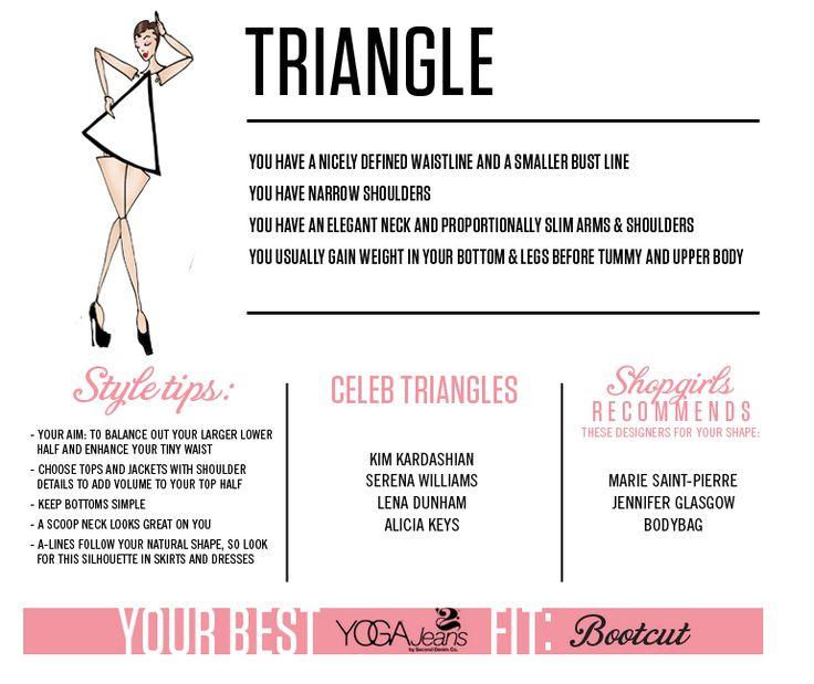 ShopShopgirls - Triangle Body Shape - Shop Your Shape | Shopgirls