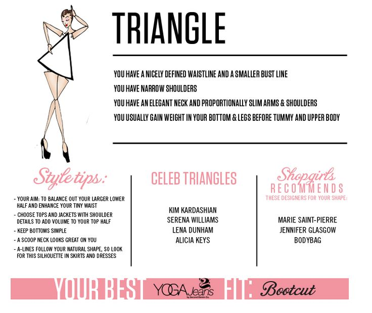 Shopshopgirls Triangle Body Shape Shop Your Shape Shopgirls My Style Pinterest Shops