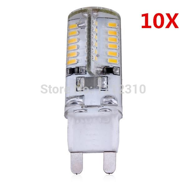 17.99$  Watch here - http://alidyt.shopchina.info/go.php?t=32255857980 - 10pcs/Lot 3W G9 LED Bulb Light 220V Super Bright SMD 3014 Equal To 5W G9 Luminance Flux Replace 30W Halogen Lamp 360 Beam Angle  #magazineonline