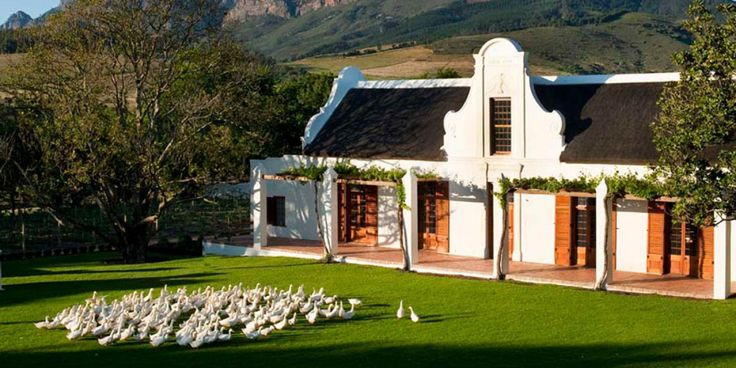The Owners House. Babylonstoren Farm Hotel, Franschhoek, South Africa.