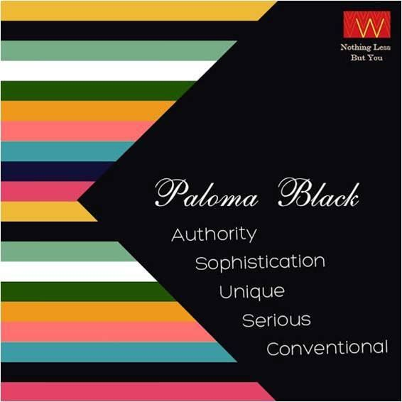 #Paloma black is the color that will make you feel #bold and #powerful. Tag your #friends who are in love with this color.