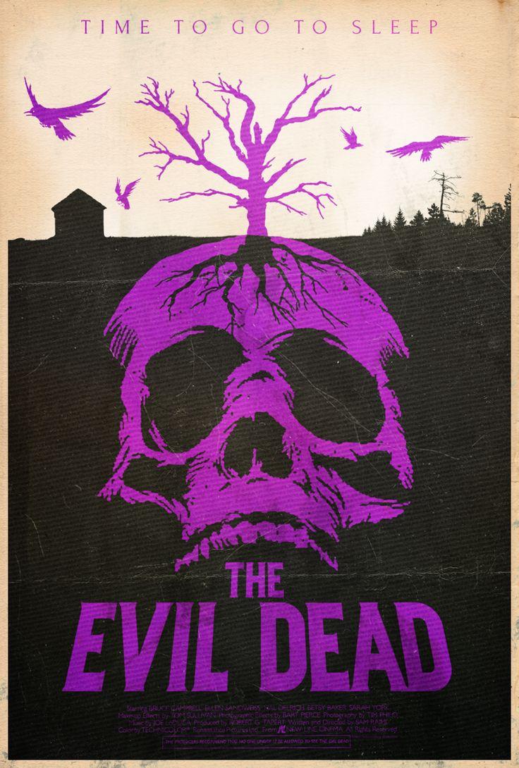 Poster design deviantart - The Evil Dead Alt Minimalist Poster By Disgorgeapocalypse Deviantart Com On