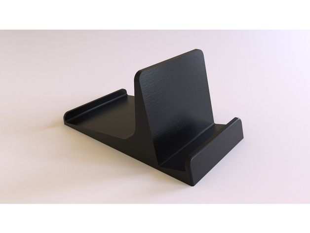 Universal Phone & Tablet Stand (Improved) V2 by cnorth - Thingiverse