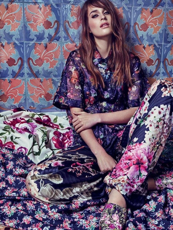 Marie Claire Russia - April 15. Pattern overload