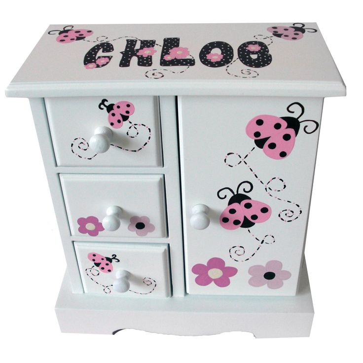 adorable jewelry box for a little girl