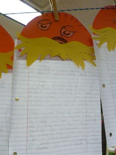4th Grade Frolics: Lorax, Perimeter Bots, Math Games, and Spring Break!!!!