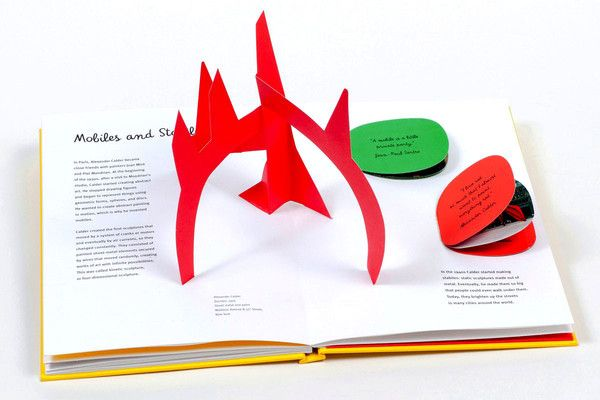 Alexander Calder's whimsical world is brought to life by imaginative pop-ups, pull tabs, lift-the-flaps, and cutouts.