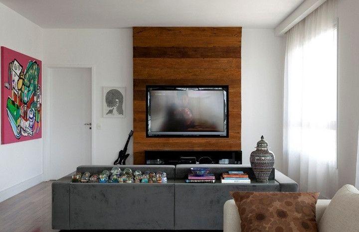 5 maneiras de esconder os cabos da televisão