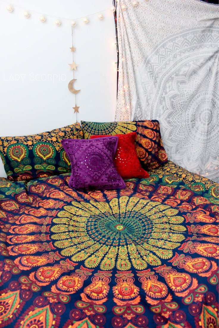 M s de 1000 ideas sobre dormitorios hippies en pinterest for Decoracion piso hippie