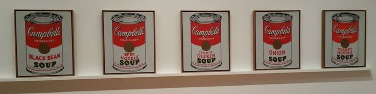 Andy Warhol: Campbell's Soup Cans and Other Works, 1953–1967