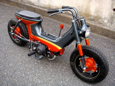 Honda Chaly Custom by Wedge Paint Factory - Lsr Bikes