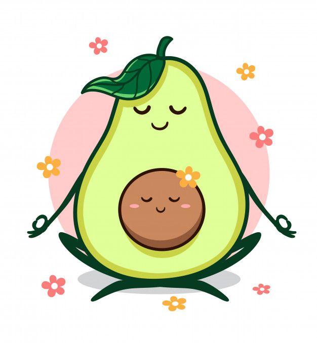 Yoga Avocado Avocado Art Avocado Cartoon Cute Drawings Cartoon cute avocado wallpapers