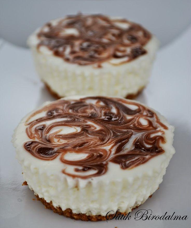 SÜTIK BIRODALMA: Mini joghurttorta / Mini yogurt cake