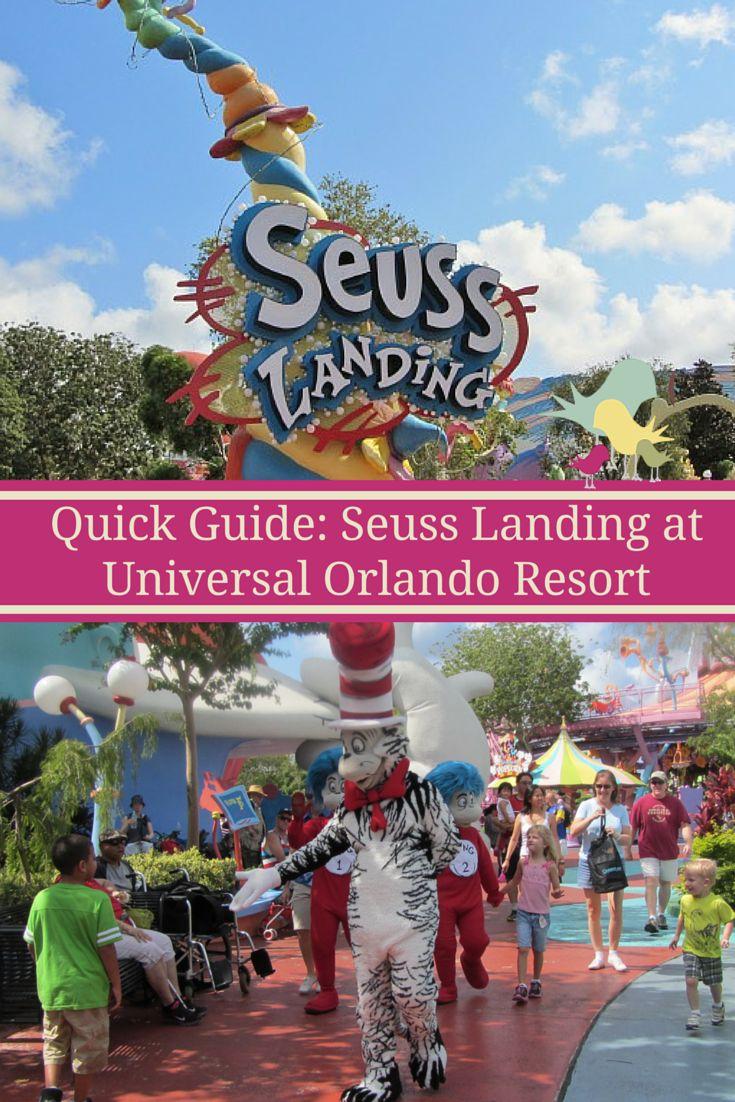 Quick Guide: Seuss Landing at Universal Orlando Resort