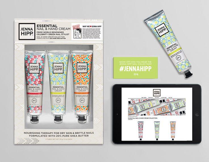 Jenna Hipp Nail & Hand Cream Collection