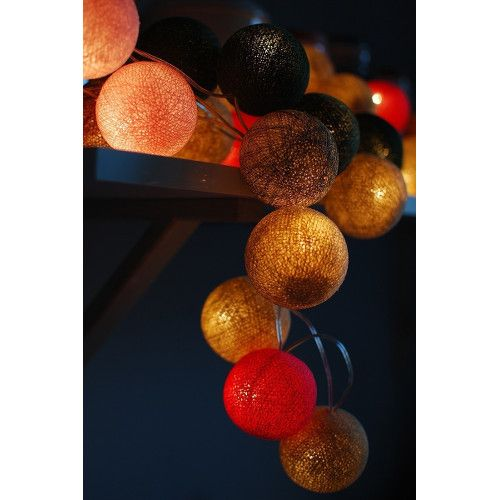 Cotton Ball Lights - Autumn feelings 35 kul - sprawdź na myhome.pl