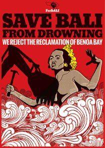 Save Bali from Drowning #TolakReklamasi ForBALI-BTR09