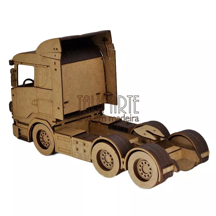 Caminhão Scania. Quebra Cabeça 3d. Miniatura Em Mdf - R$ 150,00 no MercadoLivre