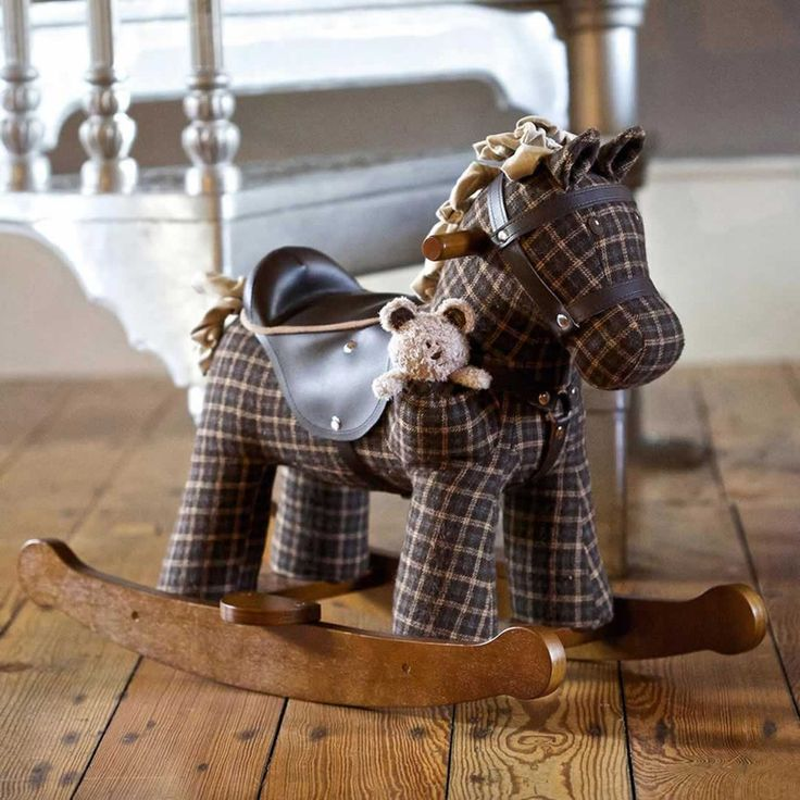 A LITTLE BIRD TOLD ME - ROCKING HORSE - RUFUS & TED