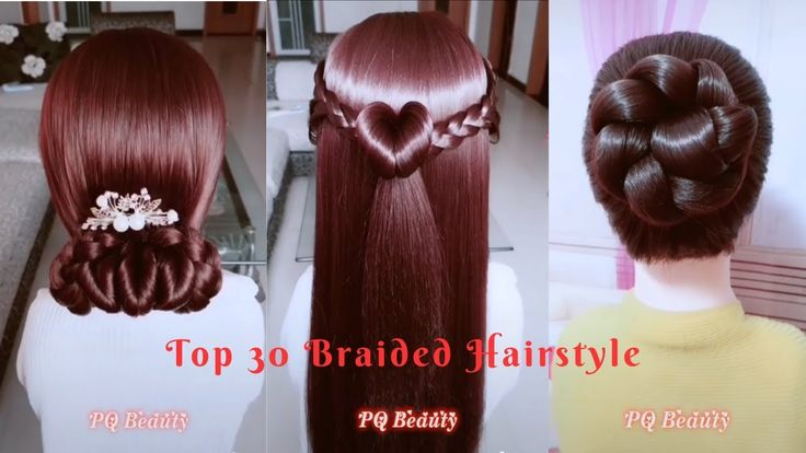 TOP 30 Braided Hairstyle  For Girls _ Best Hairstyle _ Amazing Hairstyle...