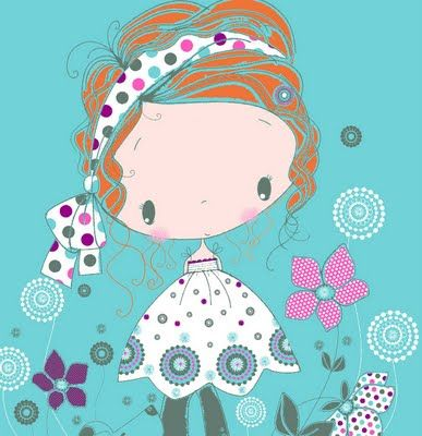 All about surface pattern ,textiles and graphics: summer girls