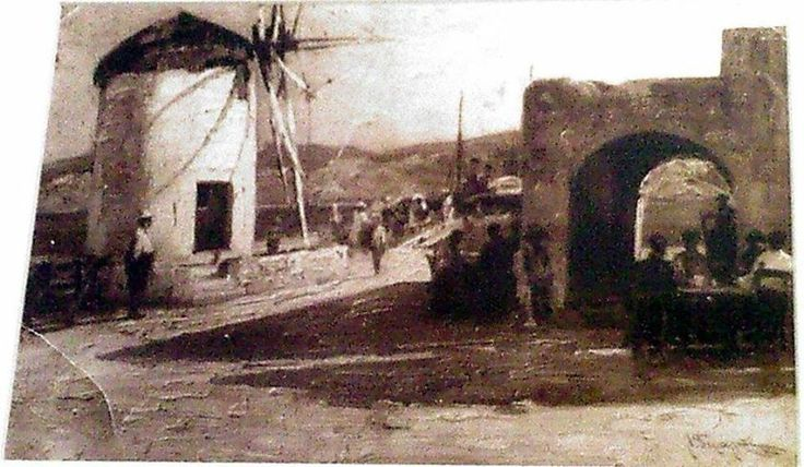 This picture was taken in the late 1800's! #Vintage #Greece #Paros #Europe #Old #History