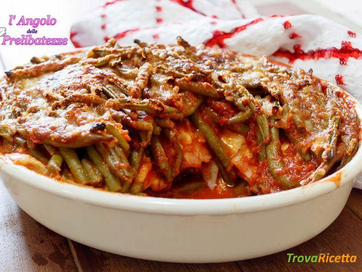 Sformato di fagiolini alla siciliana  #ricette #food #recipes