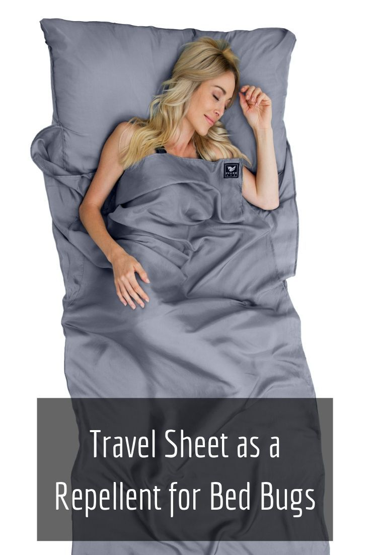 Travel Sheet as a Repellent for Bed Bugs | Bed bugs, Travel, Repellent