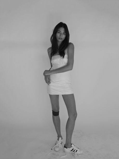 Jessica wearing the Christy in Ivory *@iamjessicagomes
