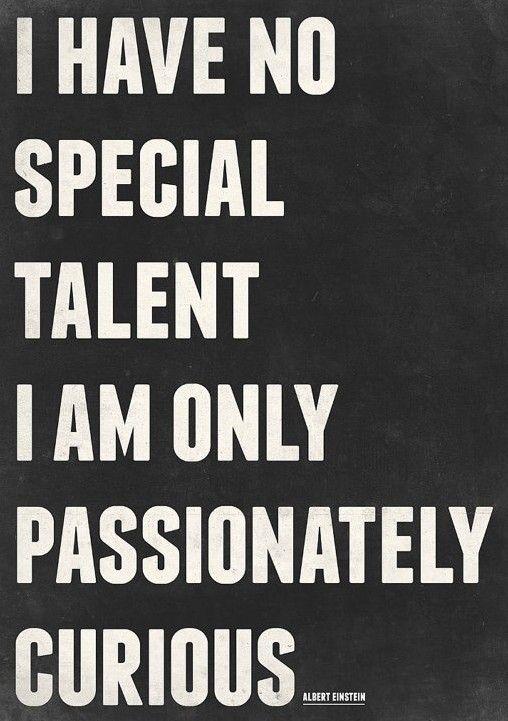 Talent - Albert Einstein